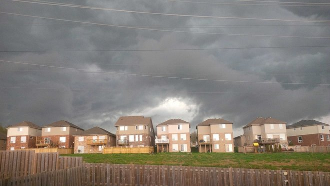 Scary Skies over Waterloo Waterloo, Ontario Canada