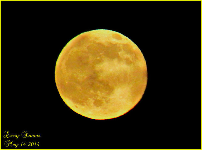 """Tonight's Moon"" Springdale, Newfoundland and Labrador Canada"