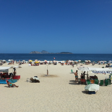 Beautiful Ipanema Beach, Rio