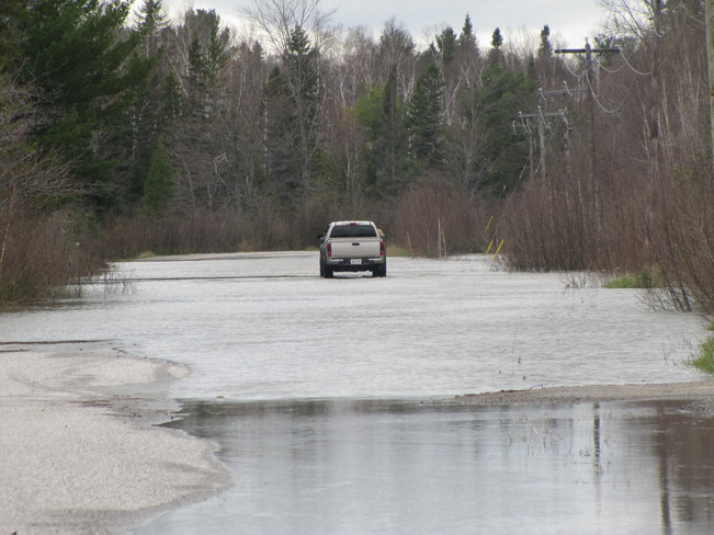 Flooding in Wanup Ontario Wanup, ON