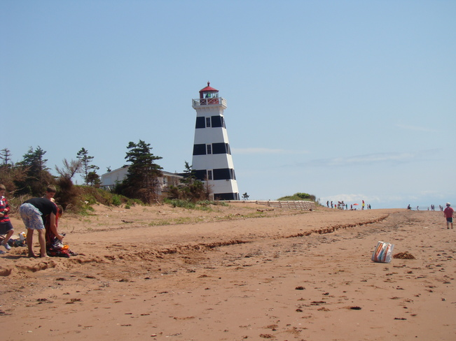 lighthouse O'Leary, Prince Edward Island Canada