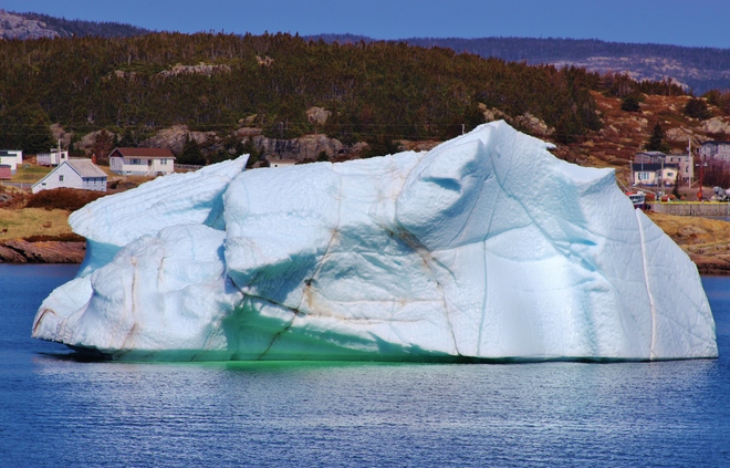 A large Berg in Plate Cove East St. John's, NL