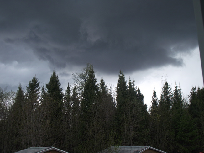 Dark Clouds Moose Factory Island, Cochrane District, ON