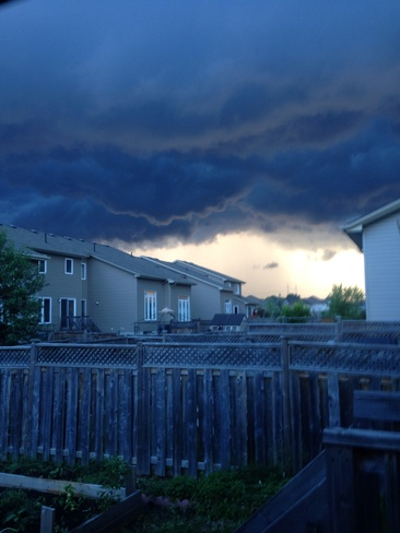 A little storm coming our way Kanata, Ontario Canada