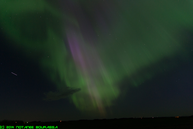 Auroral Dawn - 8Jun2014 Regina, Saskatchewan