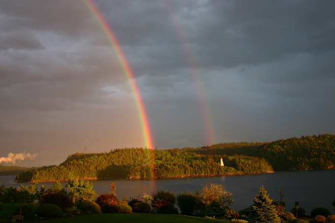 Double Rainbow Saint John, NB