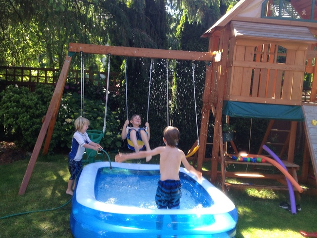 Fun in the sun.............. Surrey, British Columbia Canada