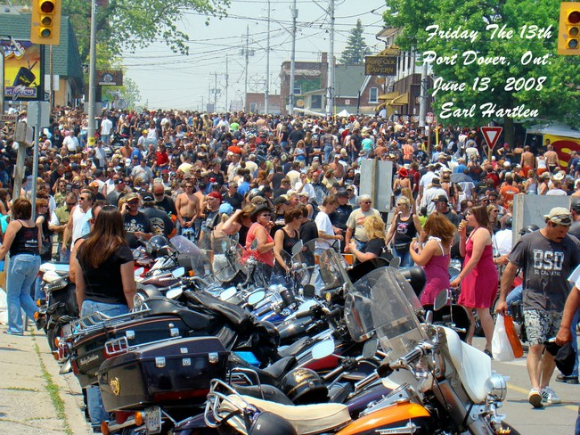 Friday The 13th Port Dover June 2008 Port Dover, Ontario Canada