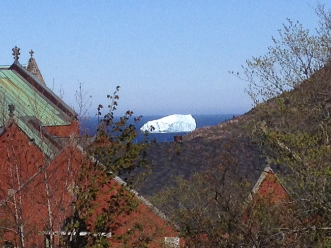 iceberg at the narrows St. John's, Newfoundland and Labrador Canada