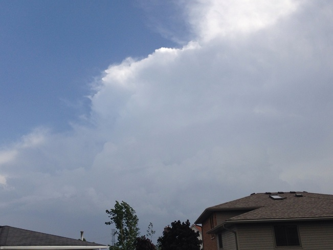 Beautiful culumonimbus cloud! Kitchener, Ontario Canada