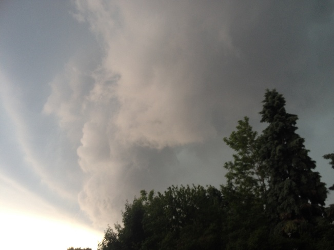 thunderstorm Chatham, Ontario Canada