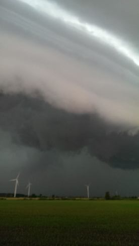 Nasty looking storm Blenheim, Chatham-Kent, ON