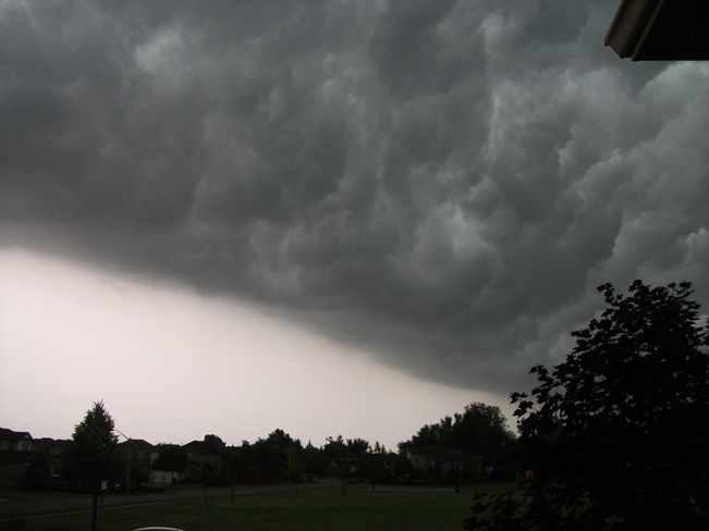 6/18/14 storm rolling in Windsor, ON