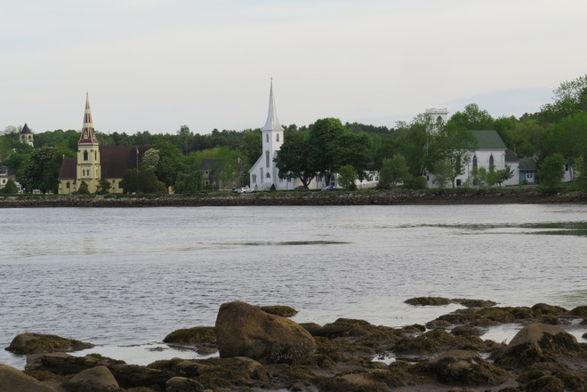 Mahone Bay The Three Churches Mahone Bay, NS