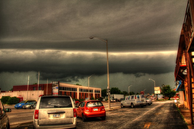 Shelf Cloud Windsor, ON