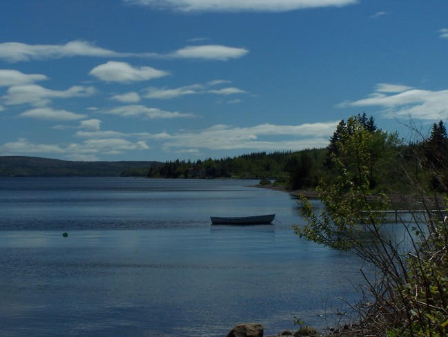The Little Row Boat. Baddeck, NS