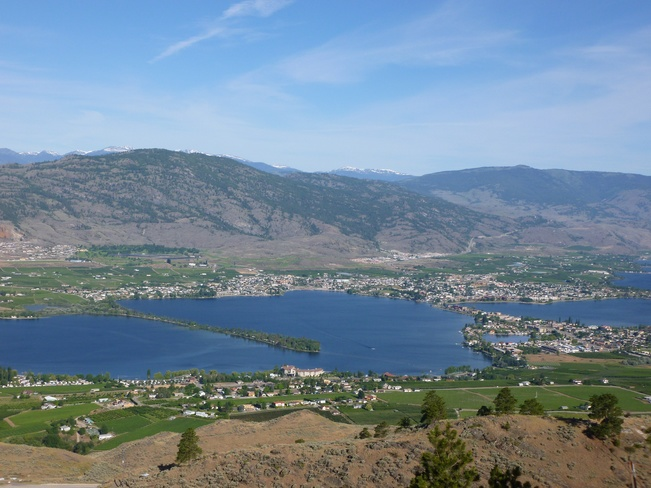 View of Osoyoos Osoyoos, British Columbia Canada