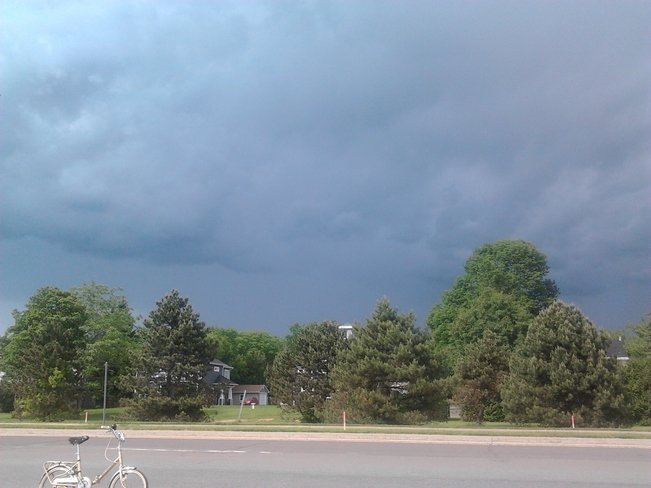 Storm is brewing here in Fredericton! Fredericton, NB