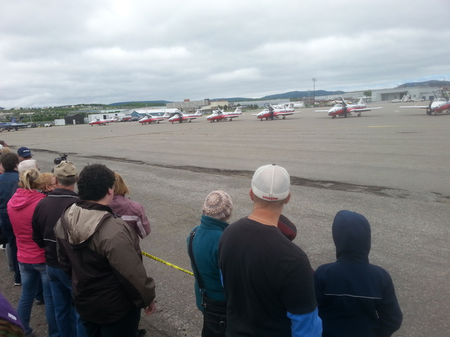 Air Show Stephenville, NL