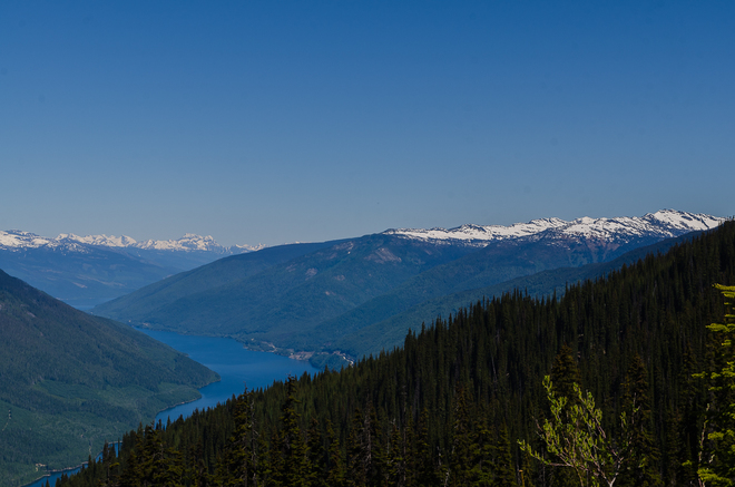 clear day Revelstoke, BC