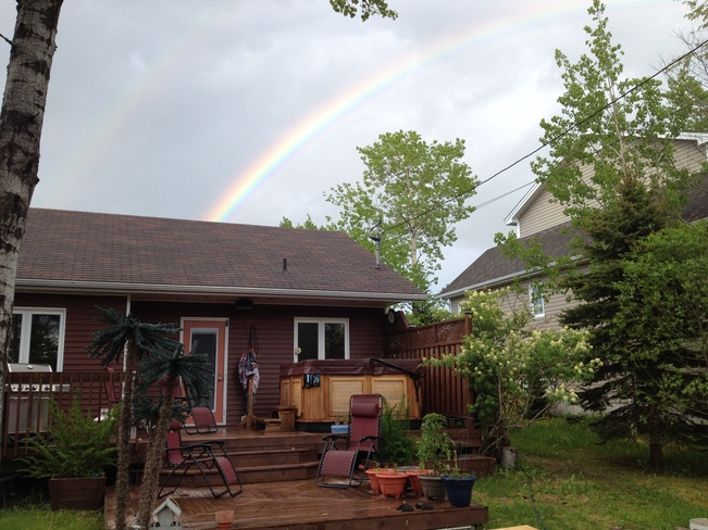 under the rainbow Clarenville, Newfoundland and Labrador Canada