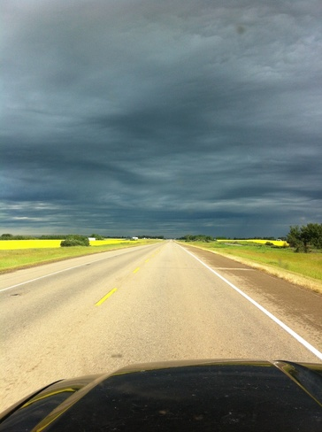 Waiting on the Rain! Camrose, Alberta Canada