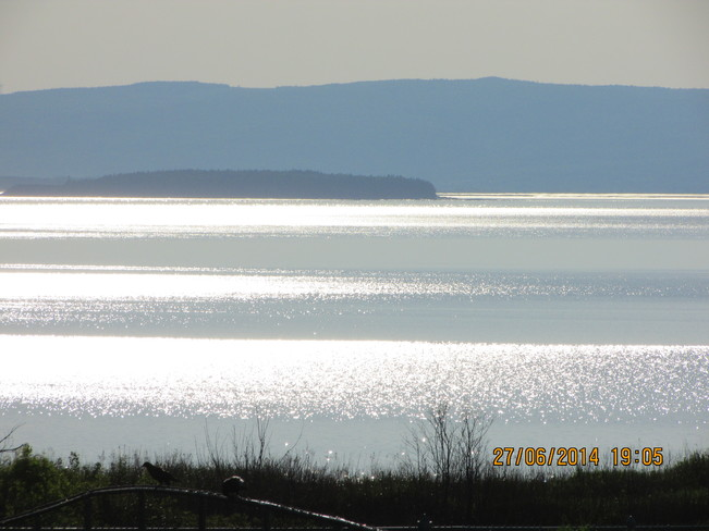 Fundy BAY... Joggins, Nova Scotia
