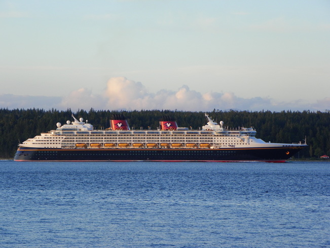 Disney Wonder Campbell River, British Columbia Canada