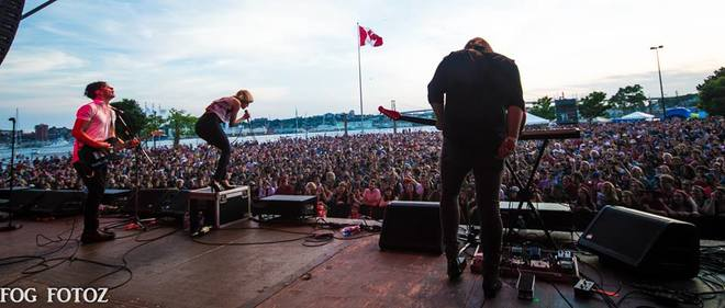 Canada Day - Dartmouth N.S - July Talk Live ! Alderney Landing, Dartmouth, NS