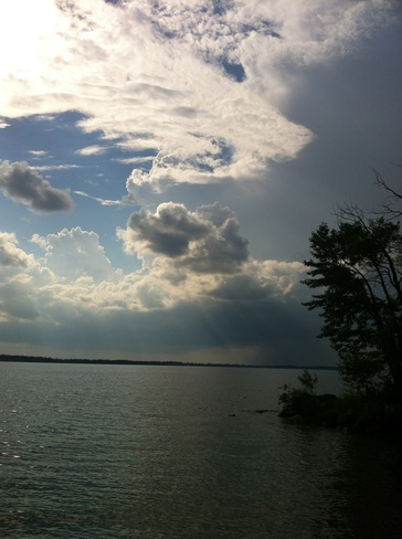 Storm is a brewing!! Candle Lake, Saskatchewan Canada