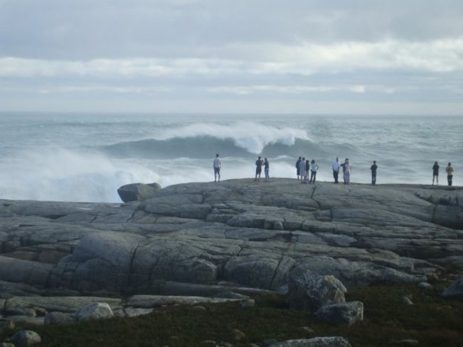 the power of storms in nova scotia Peggys Cove, NS