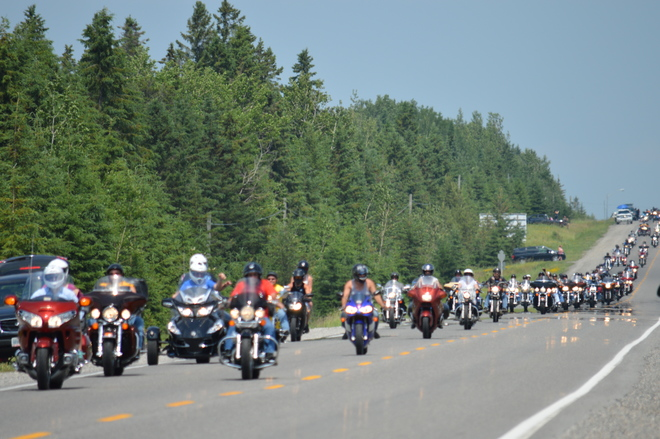 Freedom Ride New Liskeard, Temiskaming Shores, ON