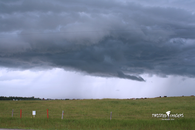 Cloud structure Airdrie July 6 2014 Airdrie, AB
