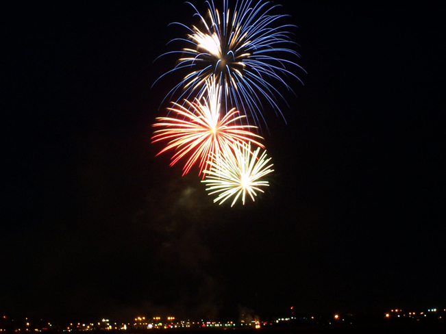 Fire Works ... Moncton, New Brunswick Canada