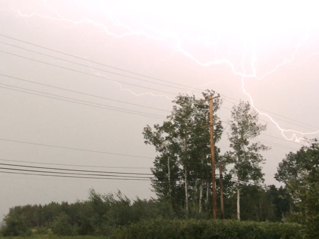 Lightening..... Fort Smith, Unorganized, NT, Canada