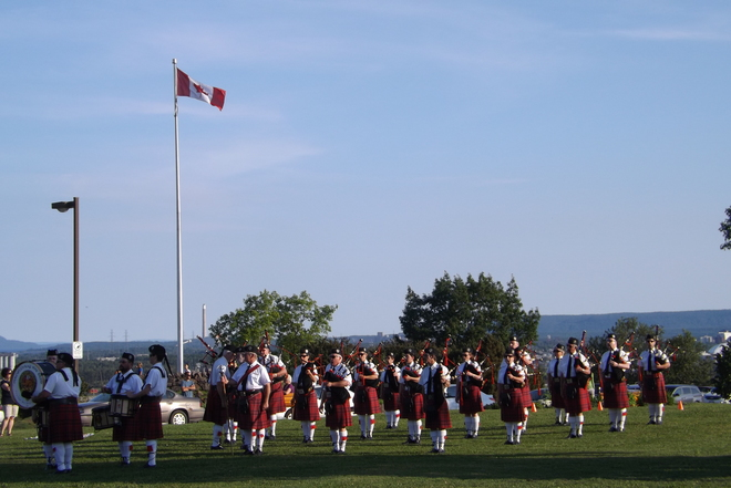 PIPE BAND Thunder Bay, ON