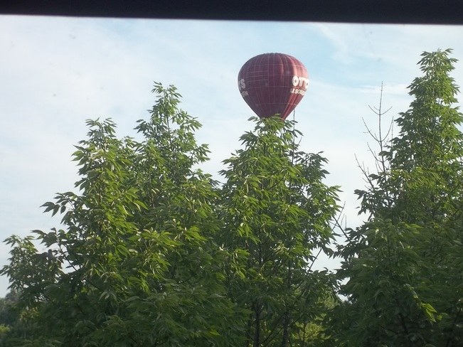 Beauty of a Morning For a Balloon Ride! Cornwall, ON