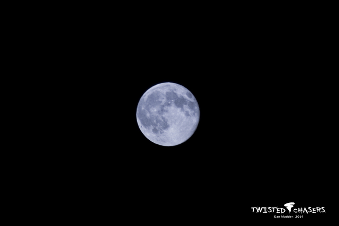 Supermoon July 12-13 2014 Calgary, AB