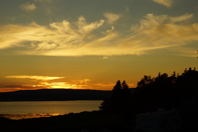 Jaggars Point Sunset Smith Cove, Digby Nova Scotia