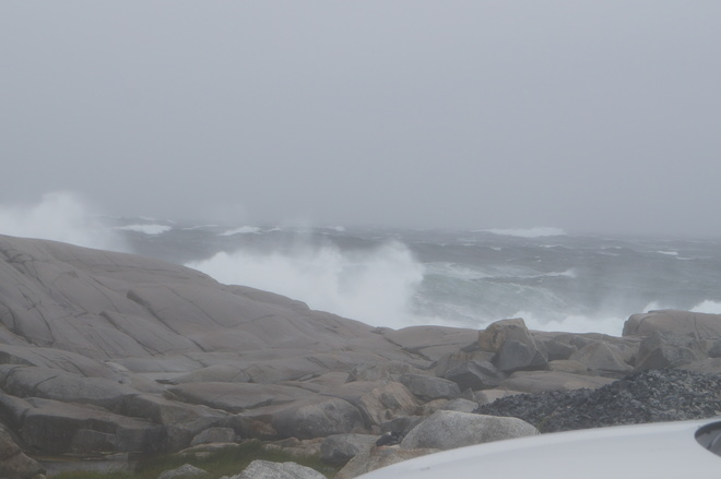 Tropical storm Arther July 5 2014 Peggys Cove, NS