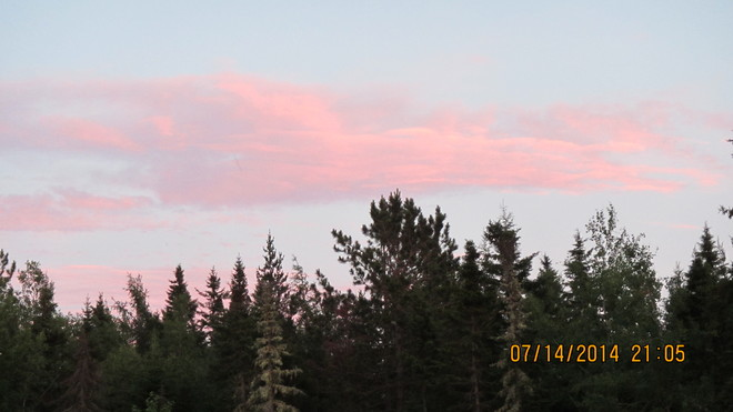fabulous colors in the sunset tonight 2698 New Brunswick 134, Shediac, NB E4P, Canada