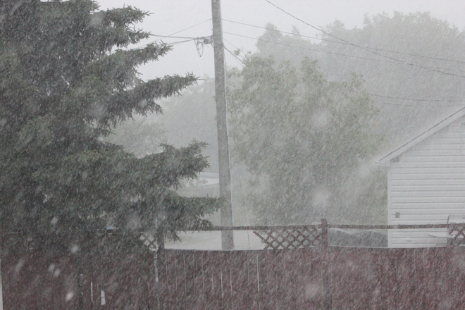 Heavy Rains Sioux Lookout, ON