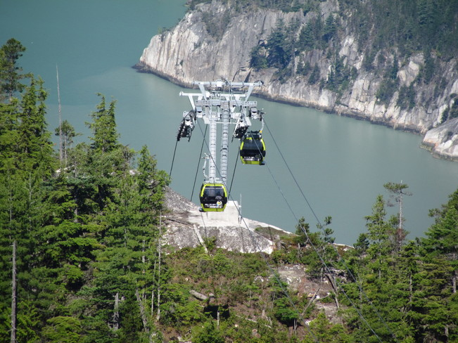 Taken in Squamish Bc on July 11th 2014 this is the Sea to Sky Gondola Squamish, BC