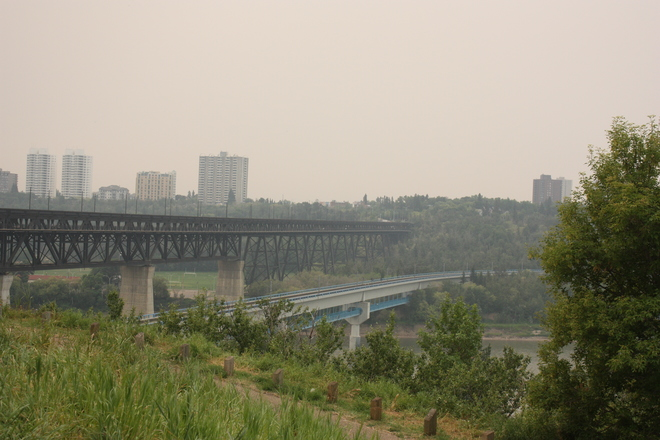 Hazy day in Edmonton Edmonton, AB