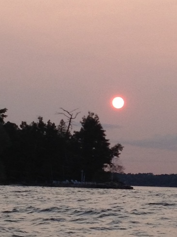 Sunset at BIg Bay Point Innisfil, Ontario Canada