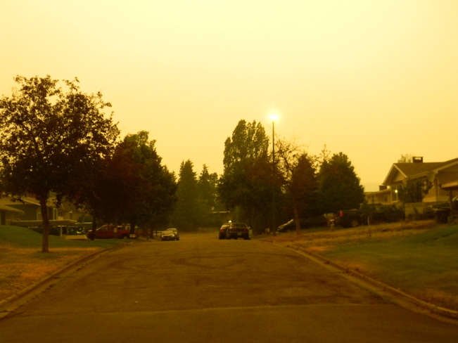 Smoky July Morning in Prince George