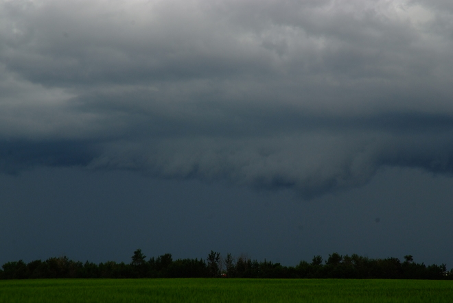 FFD from Squall Line Leduc, AB