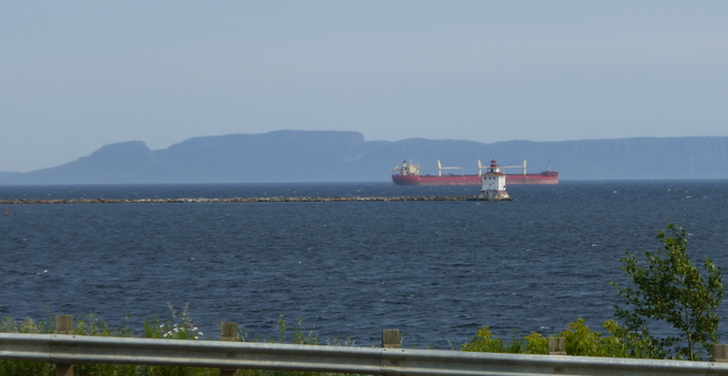 Lake Superior Marine Scene in Thunder Bay
