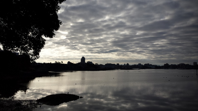 Victoria's Uncertain Morning Sky Victoria, BC
