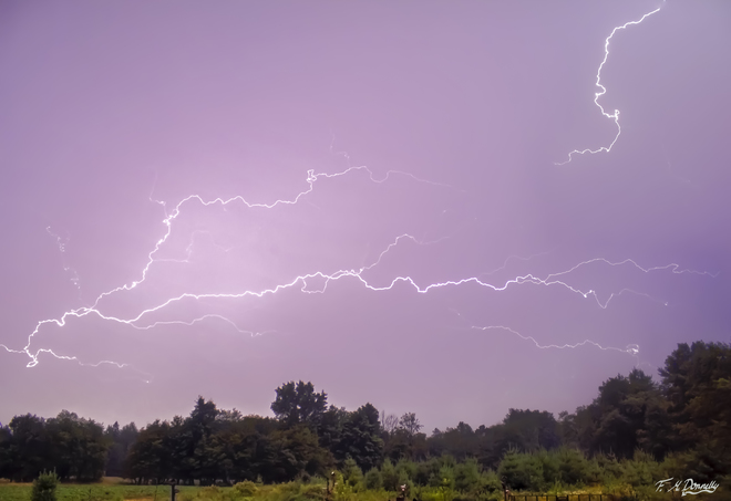 Awesome Lightning! Port Elmsley, ON